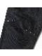 RIPVANWINKLE・リップヴァンウィンクル/ハイパワーデニム SLIM EASY CARGO/DEEP BLACK
