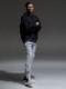 (予約品)9月入荷/RESOUND CLOTHING・リサウンドクロージング/TIGHT TAPERD Rachel PT/GREY