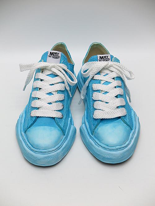 MIHARAYASUHIRO・ミハラヤスヒロ ooriginal sole overdie lowcut sneaker Blue