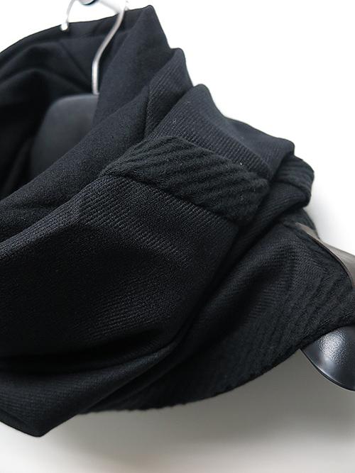 SALE40%OFF/PATRICK STEPHAN・パトリックステファン・Jersey scarf 'tape' 19/BLK.
