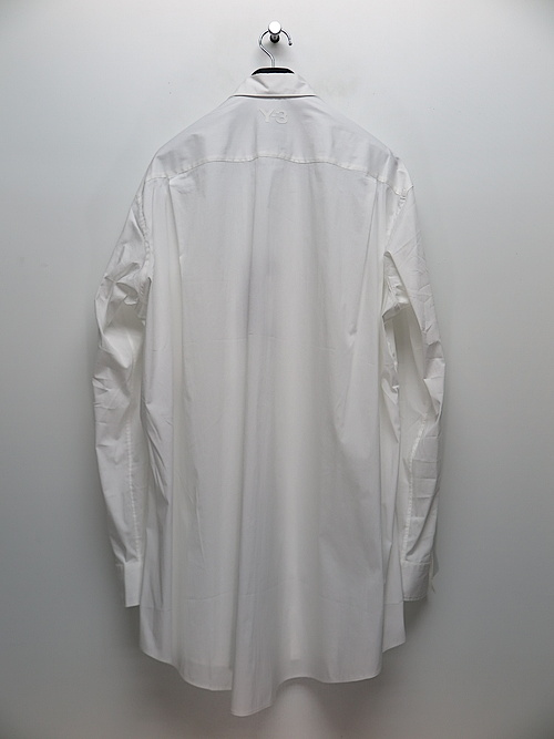 Y-3・ワイスリー/Y3-A20-0000-248/M CL SHIRT/CORE WHITE