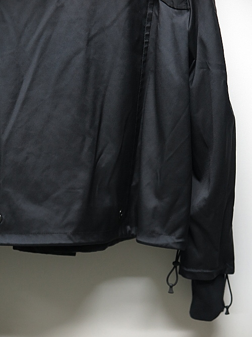 NIL/S・ニルズ/PL/CO TWILL BLOUSON FOR MALE/BLACK