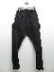 RIPVANWINKLE・リップヴァンウィンクル/スパニッシュピマ NEW SOLID PANTS/MATT BLACK