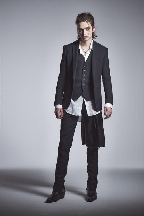 KiryuyriK・キリュウキリュウ/Gabadine Stretch Jacket/BLACK.