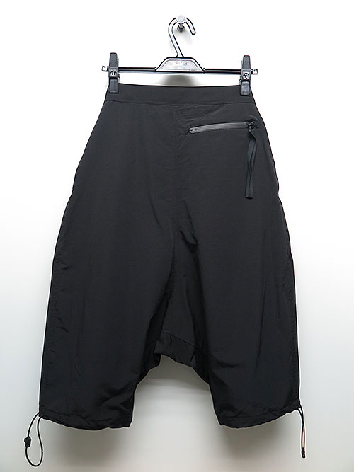 NIL/S・ニルズ/CO/NY COLTH TROUSERS BLACK.