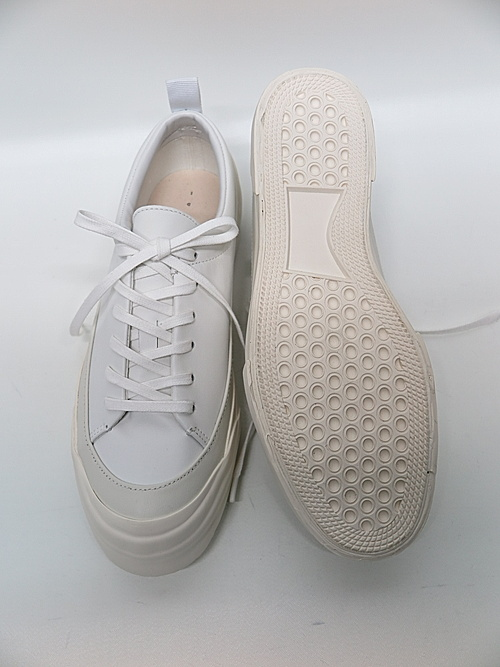 The Viridi-anne・ザ ヴィリディアン/ローカットスニーカー/WHITE-WHITE