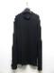 nude:masahiko maruyama ・ヌード:マサヒコマルヤマ/Bottle Neck Layered T shirt/Black