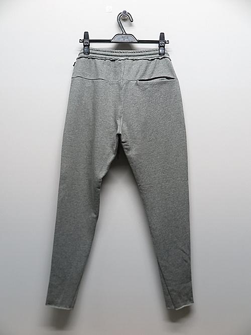 wjk・ダブルジェイケイ/triangle rib pants/t.gray