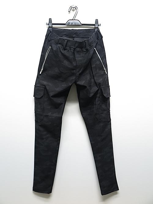 RESOUND CLOTHING・リサウンドクロージング/super tight taperd LIVE cargo PT/BKCAMO