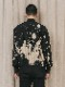 """(予約品)2〜3月入荷/nude:masahiko maruyama ・ヌード:マサヒコマルヤマ/DISTORTION3 """"RYOYA NISHIMOTO"""" DISCHARGE PRINT BOMBER JACKET/Black"""