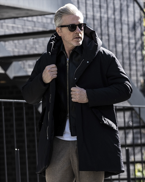 wjk・ダブルジェイケイ/warmest coat/ブラック.