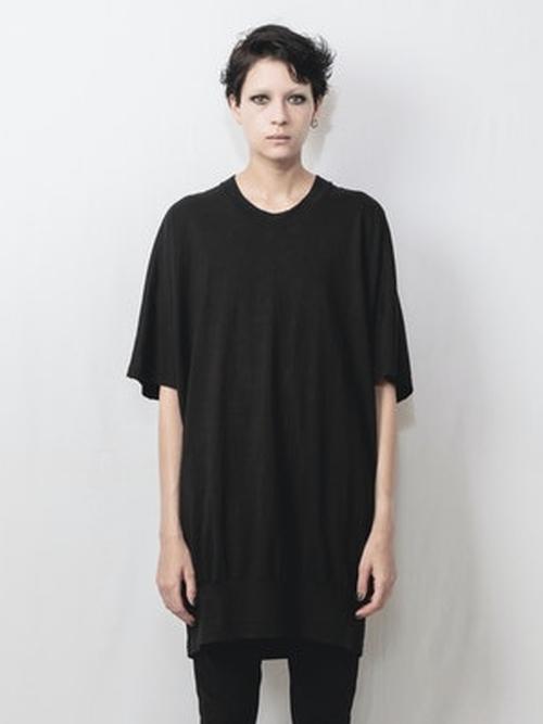 (予約品)1〜2月入荷予定/nude:masahiko maruyama ・ヌード:マサヒコマルヤマ/Cotton Jersey Big Sleeveless Pullover/BLK