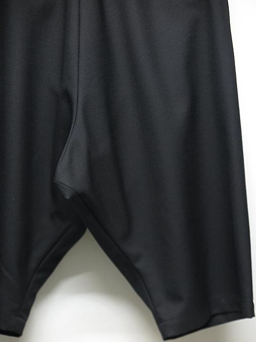 Ground Y・グラウンドワイ・ショートラップサルエルWrap Short pants/ブラック