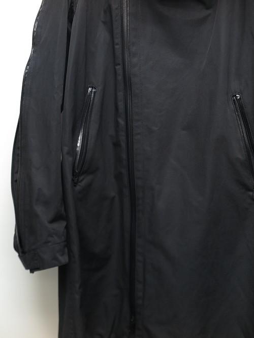 nude:masahiko maruyama ・ヌード:マサヒコマルヤマ/Cotton/Nylon Twill Military Parka/BLK