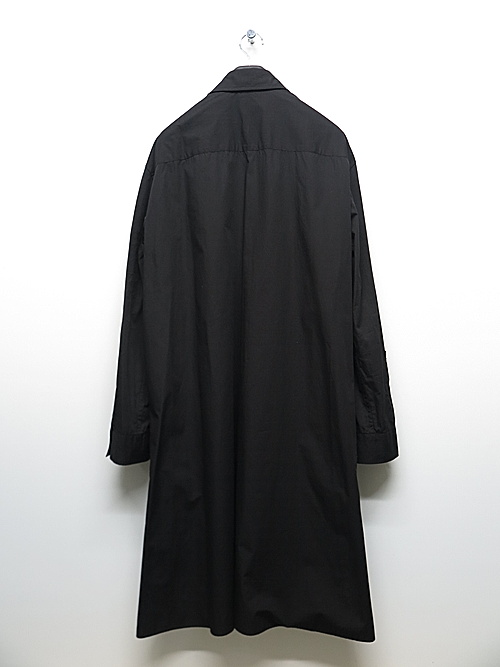 Ground Y・グラウンドワイ・Double Collar Big Shirt/ブラック