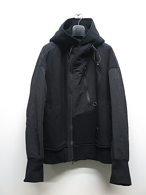 NIL/S・ニルズ/CO/NY SWEAT CUT & SEWN FOR MALE/BLACK