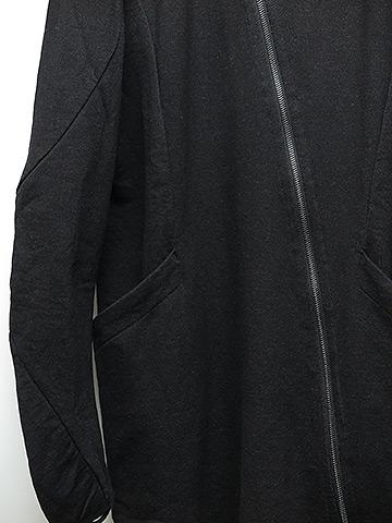 SALE60%OFF/LEON LOUIS(レオンルイス )ASYL ZIP CARDIGAN・ブラック.