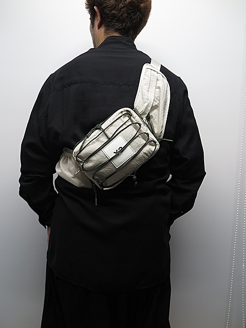 Y-3・ワイスリー/Y-3 SLING BAG/CLEABROWN