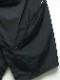 (予約品)1〜2月入荷予定/nude:masahiko maruyama ・ヌード:マサヒコマルヤマ/Nylon Weather Cloth Wrap Skirt/BLK
