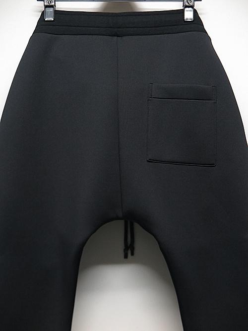 RIPVANWINKLE・リップヴァンウィンクル/ダイバーニットジャージ MOTO JERSEY/BLACK