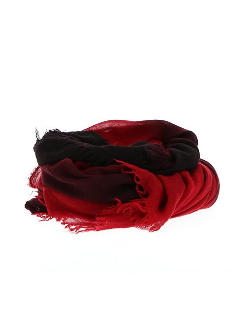 D.HYGEN・ディーハイゲン/シルクレーヨングラデーションダイストール/RED