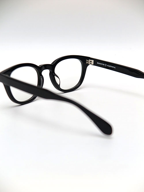 RESOUND CLOTHING・リサウンドクロージング resound DRIVE EYE WEAR BK CLEAR.