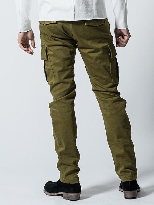 (予約品)10月入荷予定/wjk・ダブルジェイケイ/M65 skinny pants/KHA