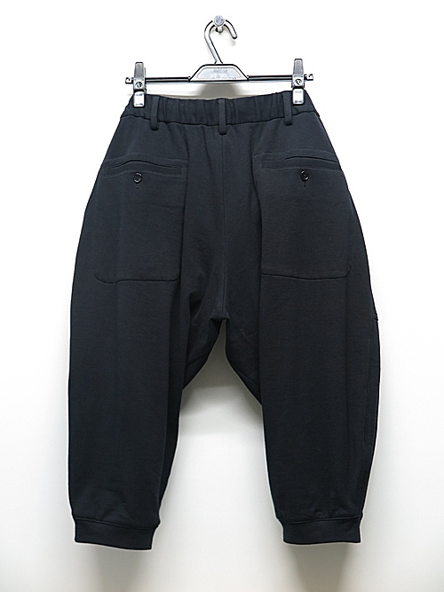Ground Y・グラウンドワイ・Sweat Rib Short Pants/BLACK