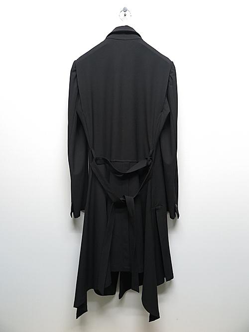 kiryuyrik・キリュウキリュウ/Toropical Triming Flare Jacket/Black