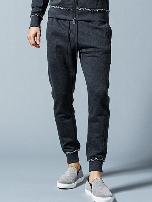 (予約品)3月入荷予定/wjk・ダブルジェイケイ/german army trainer pants/charcoal