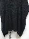 Ground Y・グラウンドワイ/poplar knit Jumbo drape knit/BLK
