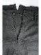 (予約品)1〜2月入荷予定/nude:masahiko maruyama ・ヌード:マサヒコマルヤマ/Japanese Paper Dobby Cloth Multi Buttons Pants/BLK