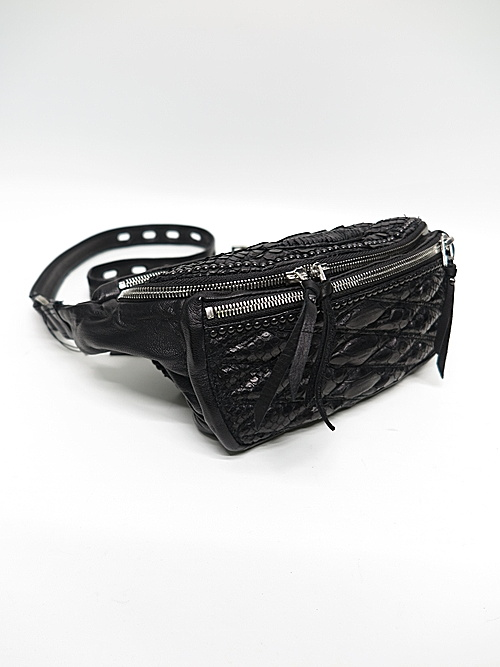 (予約品)2〜3月入荷/KMRii・ケムリ/Snake skin, Goat leather BD- Domino 02 / M/BLK