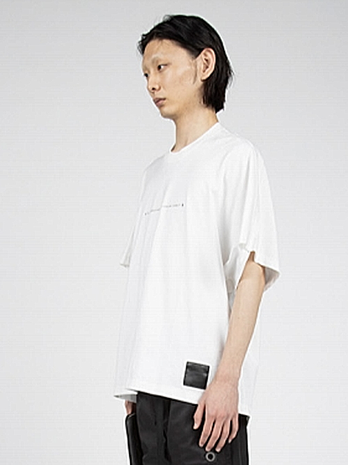 NIL/S・ニルズ/COTTON DRY JERSEY CUT & SEWN FOR MALE/OFF WHI