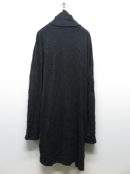 Ground Y・グラウンドワイ/C/Pe Washer Jersey Button opened big/BLK
