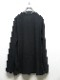 Ground Y・グラウンドワイ/30/cotton Jersey Collar deformed lo/BLK
