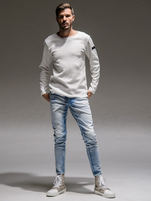 RESOUND CLOTHING・リサウンドクロージング/ST COTTON waffle Thermal/WHITE