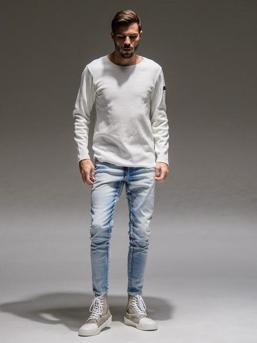 (予約品)9月入荷/RESOUND CLOTHING・リサウンドクロージング/ST COTTON waffle Thermal/WHITE