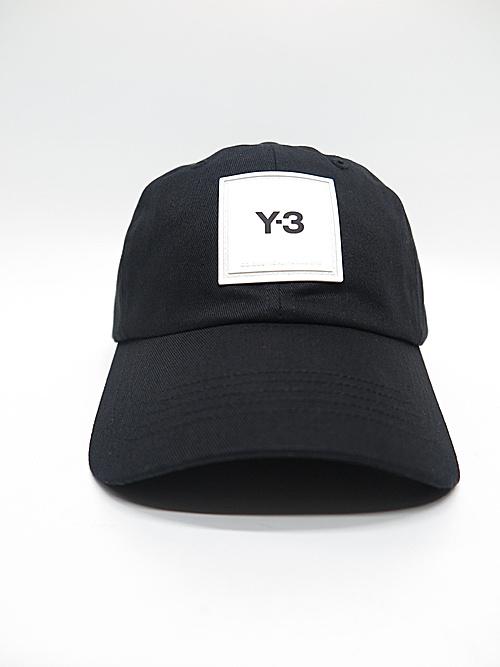 Y-3・ワイスリー/Y-3 SQL CAP/BLACK