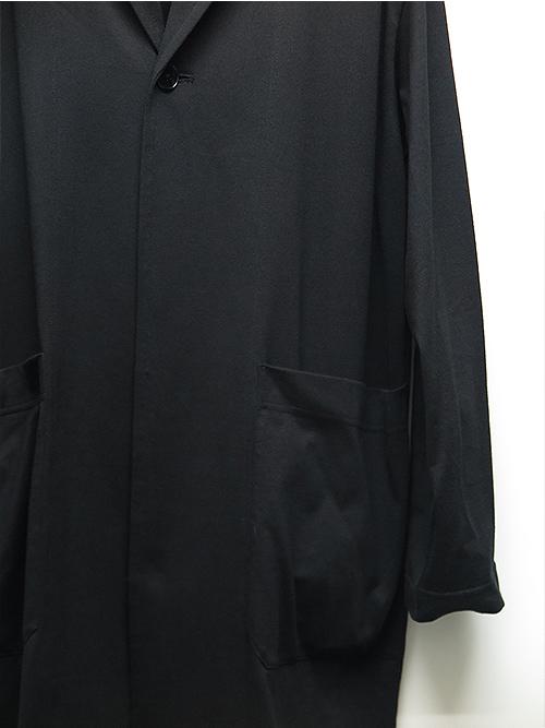 Ground Y・グラウンドワイ・40/Jersey Big Shirt Jacket/ブラック