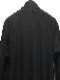 Ground Y・グラウンドワイ/Cotton Jersey Side fluttering dress/BLACK