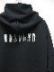 RESOUND CLOTHING・リサウンドクロージング/Antibacterial cts loose hoodie/BLACK