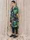 """(予約品)2〜3月入荷/nude:masahiko maruyama ・ヌード:マサヒコマルヤマ/DISTORTION3 """"HIYORI YOSHIDA"""" INKJET PRINT OVERSIZED LONG SHIRT/Colorful Print"""