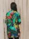 """(予約品)2〜3月入荷/nude:masahiko maruyama ・ヌード:マサヒコマルヤマ/DISTORTION3 """"HIYORI YOSHIDA"""" INKJET PRINT OVERSIZED SHORT SLEEVE SHIRT/Colorful Print"""