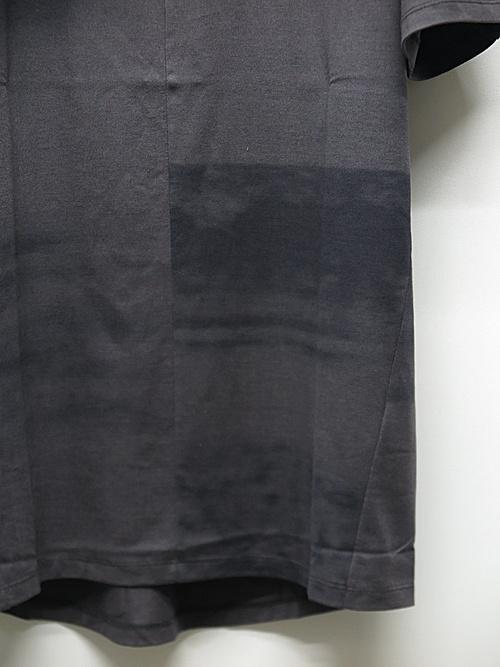 SALE30%OFF/D.HYGEN・ディーハイゲン/40/2コットン×モダール天竺プリントハーフスリーブTシャツ/CHA
