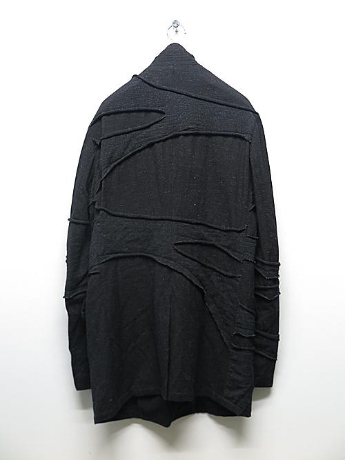 nude:masahiko maruyama ・ヌード:マサヒコマルヤマ/Patched Jacket/Charcoal