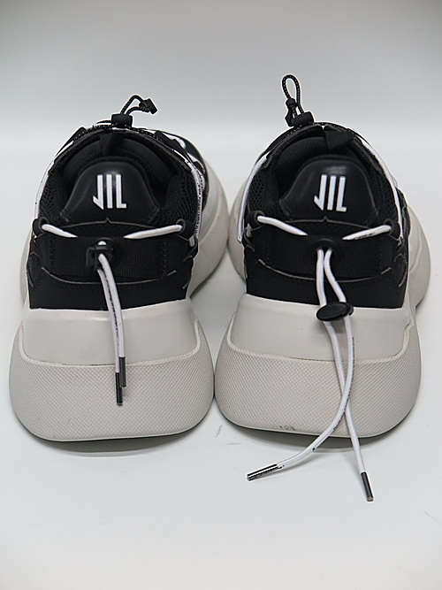 NIL/S・ニルズ/MICROFIBER FOOT WEAR FOR MALE/BLK×WHT