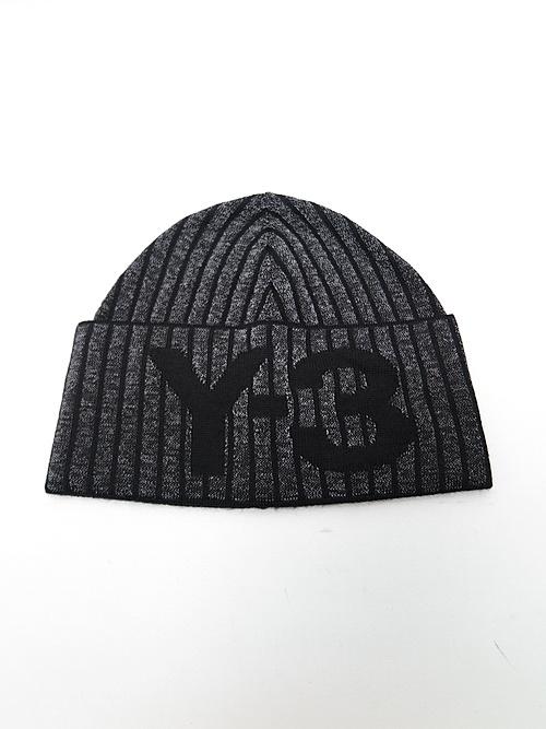 Y-3・ワイスリー/Y3-A20-0000-097/Y-3 CH1 BEANIE/BLACK