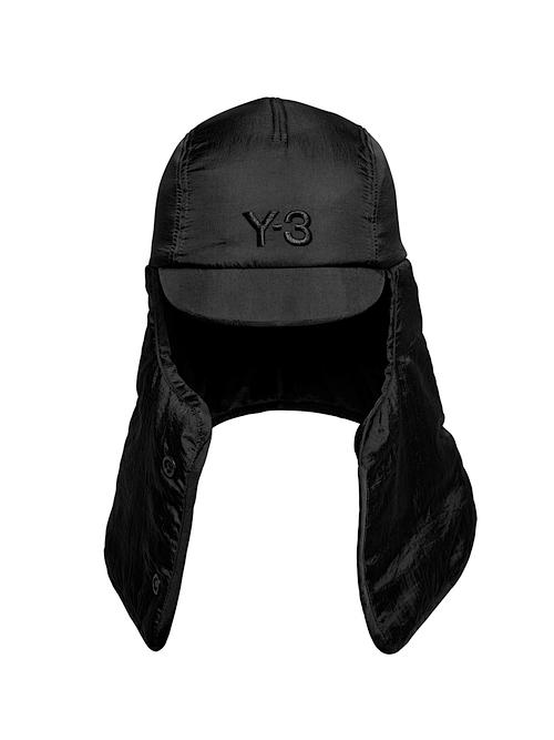 Y-3・ワイスリー/Y-3 COCOON HOOD/BLACK