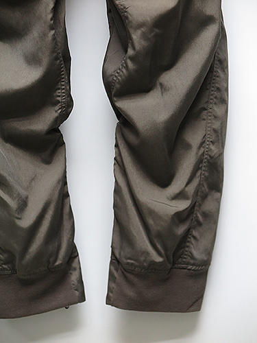 SALE60%OFF/JULIUS・ユリウス/CO/NY TYPEWRITER CLOTH TACTICAL LAYERED CHAPS PANTS/ARMY GREEN.